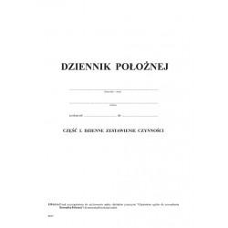 Mz/K-1 Dziennik położnej cz.I