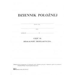 Mz/K-1b Dziennik położnej cz.III