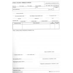 So/Me-114 Księga bloku operacyjnego